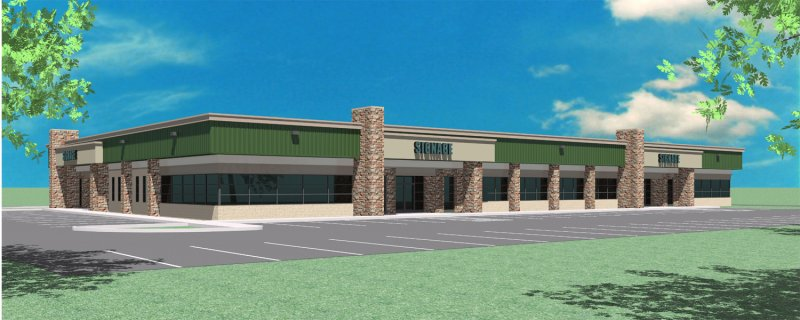 Future WestGate Seven:  15,800 square foot multi-tenant building in Greene County